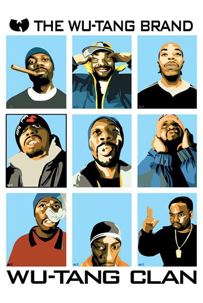 Wu Tang Clan- Band Pics poster (D10)