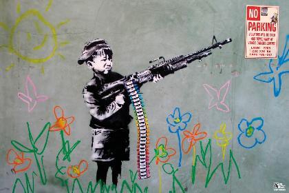 Banksy- Crayon poster