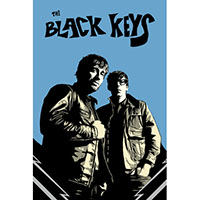 Black Keys- Black & Blue poster