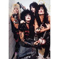 Motley Crue- Band Pic poster