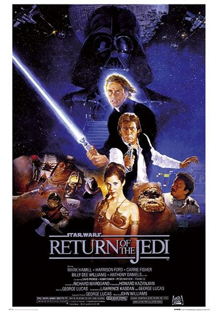 Star Wars- Return Of The Jedi poster