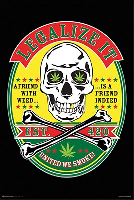 Legalize It poster (C11)