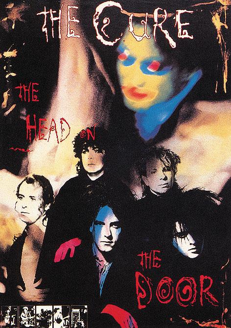Cure- Head On The Door poster (C13)
