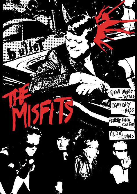 Misfits- Bullet Poster