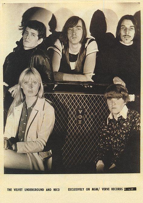 Velvet Underground- With Nico poster (A15)