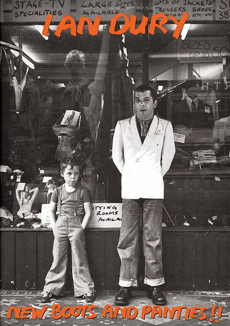 Ian Dury- New Boots Poster