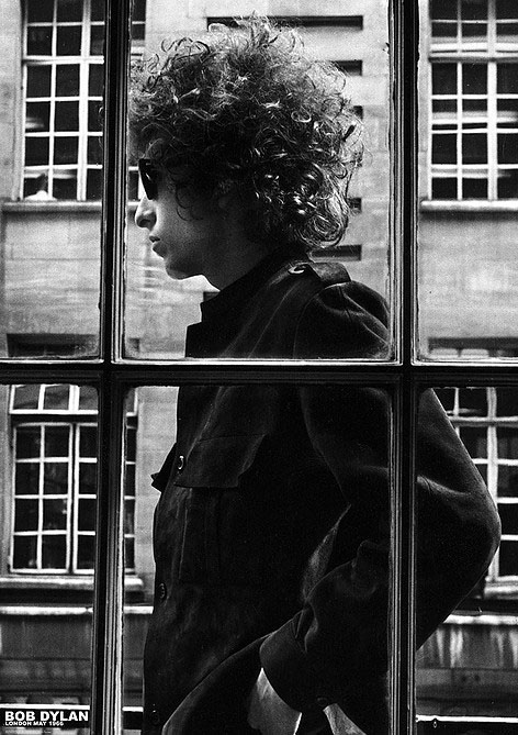Bob Dylan- Window Poster