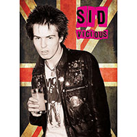 Sid Vicious- Flag Pic poster
