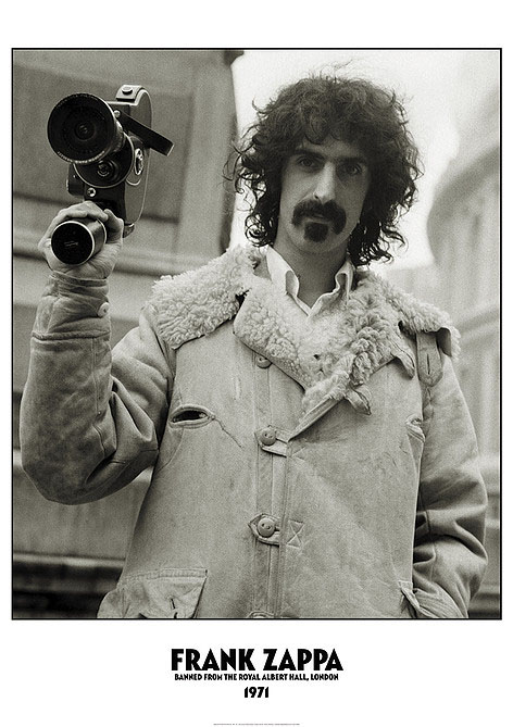Frank Zappa- Albert Hall poster