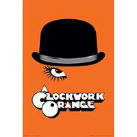 Clockwork Orange- Hat poster