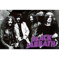 Black Sabbath- Early Band Pic Poster