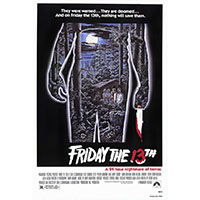 Friday The 13th- Movie poster
