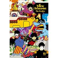 Beatles- Yellow Submarine poster