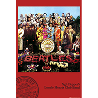 Beatles- Sgt Pepper's Lonely Hearts Club Band poster