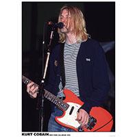 Kurt Cobain- New York Coliseum 1993 poster