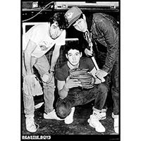 Beastie Boys- Glasgow 1987 poster