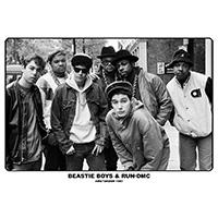 Beastie Boys- With Run DMC 1987 poster
