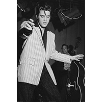 Elvis Presley- Shakin' poster