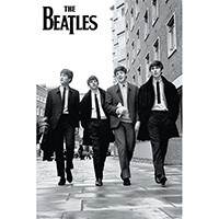 Beatles- Street Pic poster