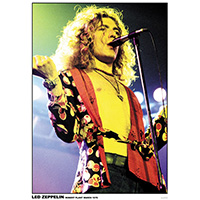 Led Zeppelin- Robert Plant 1975 (Color) poster