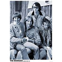 Monkees- London 1967 poster