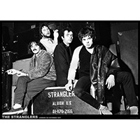 Stranglers- London 1977 poster
