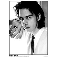 Nick Cave- 1989 Portrait poster