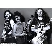 Motorhead- England 1982 poster (B4)