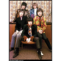 Rolling Stones- London 1967 poster