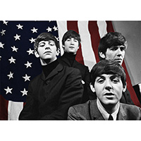 Beatles- Flag poster (D2)