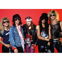 Guns N Roses- Band Pic poster (A7)