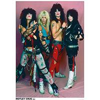 Motley Crue- 1984 Band Pic poster