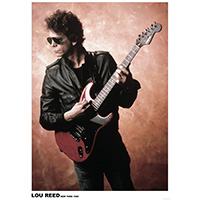 Lou Reed- New York 1983 Poster