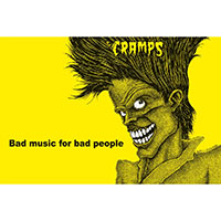 Cramps- Bad Music For Bad People Poster (A2)