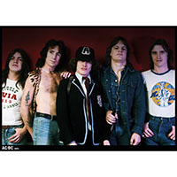 AC/DC- 1976 poster