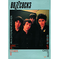 Buzzcocks- Another Music In A Different Kitchen Poster (B9)
