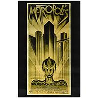 Metropolis- Movie poster