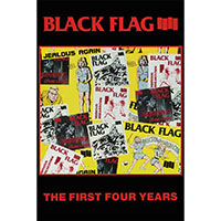 Black Flag- The First Four Years poster (A13)