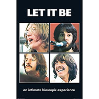 Beatles- Let It Be poster