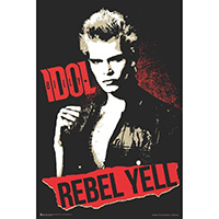 Billy Idol- Rebel Yell Poster (C12)