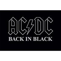 AC/DC- Back In Black poster