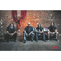 Slayer- Band Pic poster