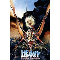 Heavy Metal- Cartoon poster