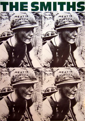 Smiths- Meat Is Murder poster