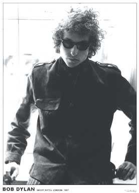 Bob Dylan- Savoy Hotel 1967 Poster