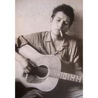 Bob Dylan- Cigarette & Guitar Poster