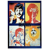 Beatles- 4 Faces poster