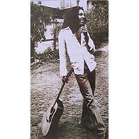 Bob Marley- Leaning On Guitar Poster