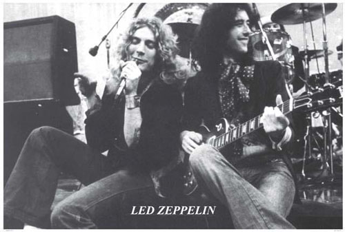Led Zeppelin- Robert & Jimmy 1971 poster