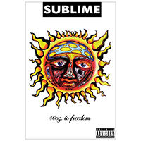Sublime- 40oz To Freedom (White) poster